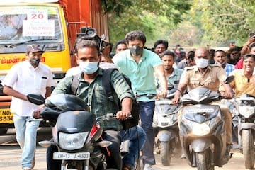 Tamil Actor Vijay Cycles to Chennai Polling Booth to Cast Vote, Fans See it as Statement on Fuel Price Hike