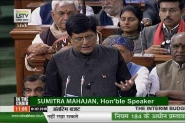 Budget 2019 LIVE: Piyush Goyal Announces Rs 6,000 Per Year Direct Cash Transfer to 12 Crore Farmers; National Cow Commission Coming Up